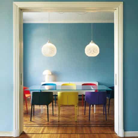 Milan apartment: dining room