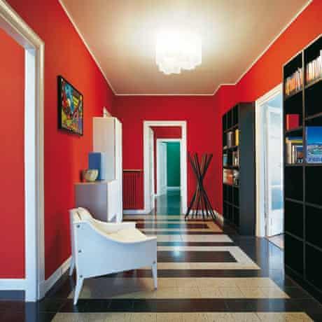 Milan apartment: hallway