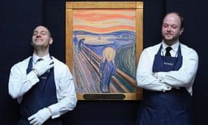 Scream at Sothebys