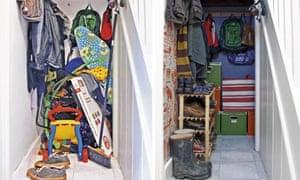 Understairs Storage Cupboard Coats