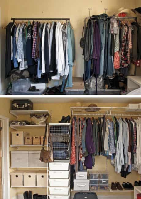 Nightmare cupboard: Rebecca Warburton
