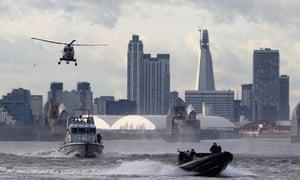 Royal Marines Olympics River Thames
