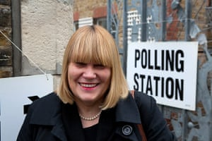 Election exit polls: Patty Barber