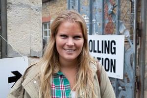 Election exit polls: Grace Barber
