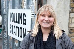 Election exit polls: Jessica Paddock