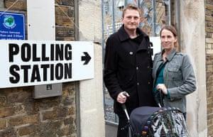 Election exit polls: Dean Holdsworth
