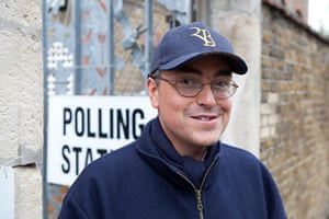 Election exit polls: Simon Elliott