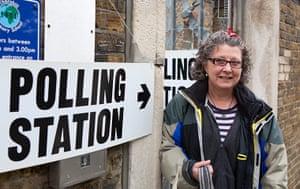 Election exit polls: Susie Paddock