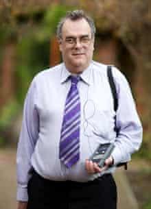 Chris James, eye implant patient, UK