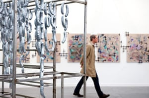 Frieze New York: Untitled 2012 (Karmer and Newman make sausage) by Rirkrit Tiravanija