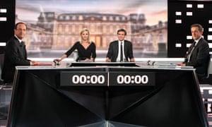 Hollande and Sarkozy TV debate