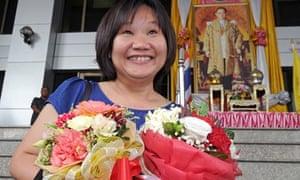 Chiranuch Premchaiporn, editor of Prachatai website