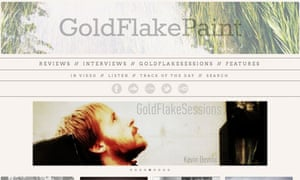 GoldFlakePaint music blog