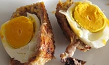 Lorraine Pascale recipe baked scotch egg