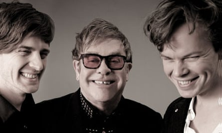 Elton John shoot with Pnau