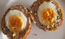 The Ship recipe scotch egg