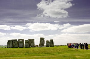 Places at risk: The ancient monument of Stonehenge