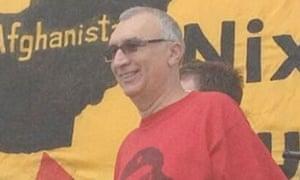 Activist Carlos Montes