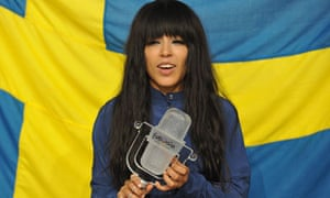 Loreen of Sweden, winner of this year's Eurovision.