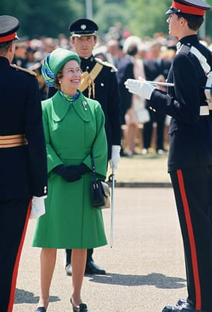 queen fashion: Queen Attends Passing Out Parade