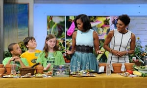 Michelle Obama promotes her new book on Good Morning America.