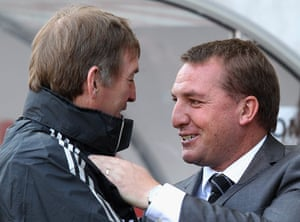 Rodgers: Swansea City v Liverpool - Premier League