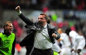 Rodgers: Swansea City v Nottingham Forest