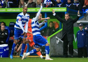 Rodgers: Reading v Blackpool