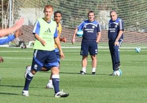 Rodgers: Soccer - FA Barclays Premiership - Chelsea Training - Cobham