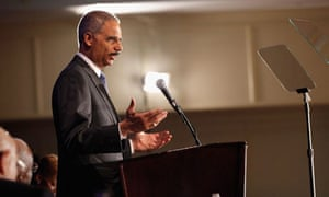 Eric Holder Addresses CBC Faith Leaders Summit