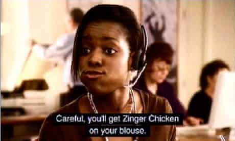 KFC Zinger ad