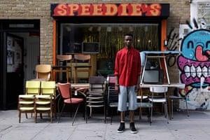 London hosts Olympics: Janvier Wete, 20, a junior editor in Shoreditch
