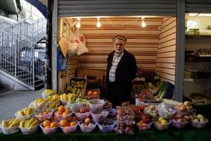 London hosts Olympics: Sadiq Mohammad, 69, a vendor in Brixton