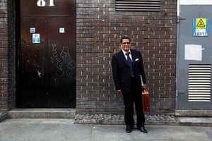London hosts Olympics: Nash Salim, 60, an accountant in Shoreditch
