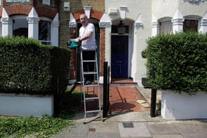 London hosts Olympics: Craig Drysdale, 57, a pensioner in Balham
