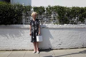 London hosts Olympics: Melanie Black, 71, a pensioner in Chelsea