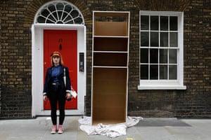 London hosts Olympics: Nikita Smith, 21, a drama student near Carnaby Street in London