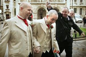 Elizabethans: Belfast Couple celebrate the UK's first gay wedding