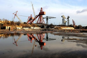 Elizabethans: Swan Hunter shipyard