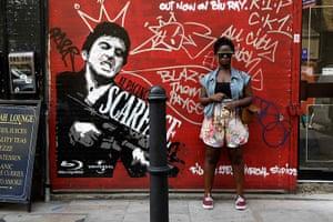 London hosts Olympics: Vanessa Babirye, 20, an actress in Shoreditch