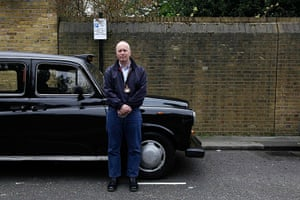 London hosts Olympics: Rob Fullerton, 46, a taxi driver  in Chelsea