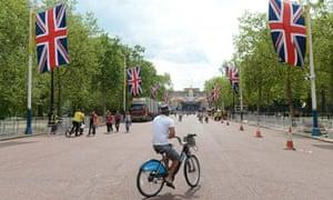 UK- Diamond Jubilee Preparations in London