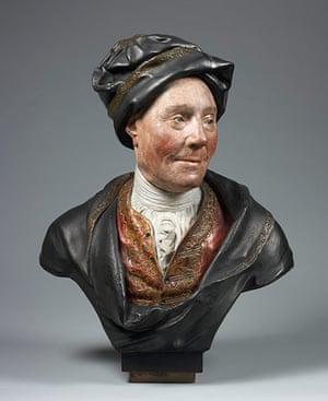 Sculpture: Colley Cibber, 1671-1757
