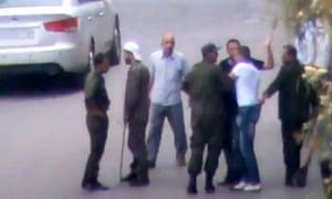 Shabiha militiamen in Syria