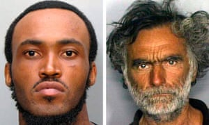 Rudy Eugene and Ronald Poppo police handout in Miami face-eating case