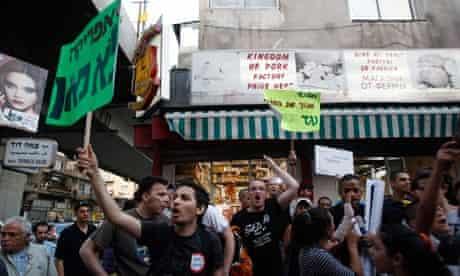 Protests in southern Tel Aviv