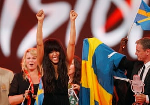 Week in music: Loreen of Sweden the winner of the Eurovision Song Contest