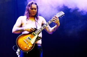 Week in music: Matt Pike of Sleep performs at the ATP Festival in London