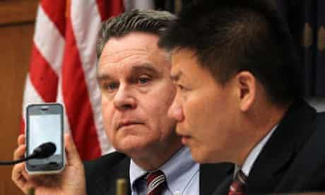 Chen Guangcheng phone call