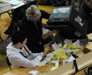 Local elections: Counting of votes gets underway in Bradford